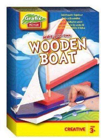 SES Výroba plachetnice s barvami cena od 112 Kč