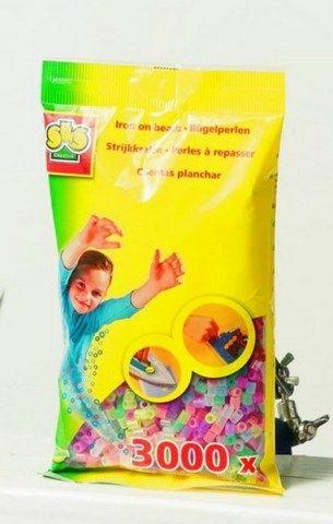 SES Zažehlovací korálky pestré barvy 3000