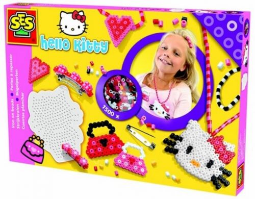 SES Zažehlovací korálky Hello Kitty-šperky cena od 341 Kč
