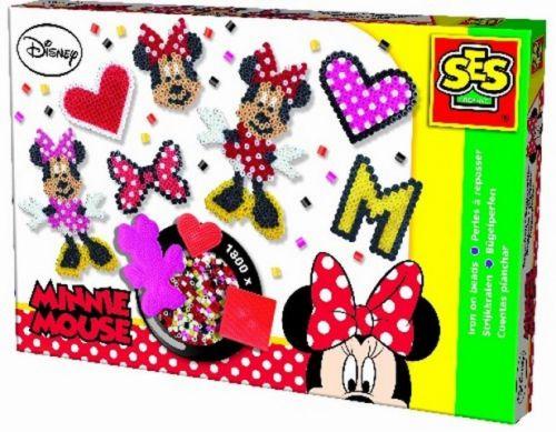 SES Zažehlovací korálkyMinnie Mouse velká sada