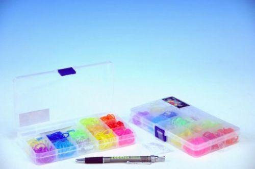 Mikro Trading Udělej si svůj náramek gumičky se třpytkami 360 ks cena od 68 Kč