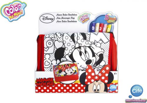 XXL obrazek Alltoys Color Me Mine Messenger kabelka Minnie