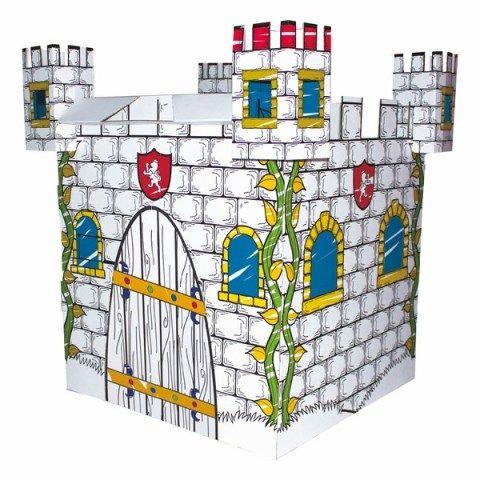 Bino Kartonový domek hrad cena od 449 Kč