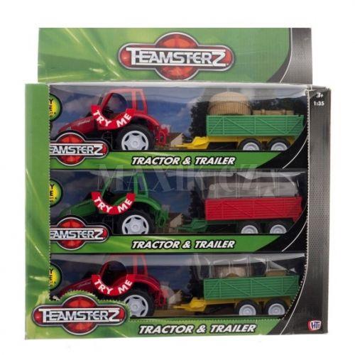 Alltoys Teamsterz traktor s valníkem cena od 130 Kč