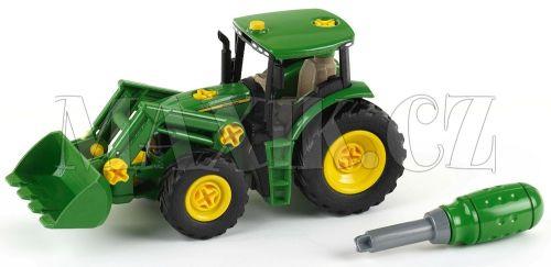 Klein John Deere Traktor s předním nakladačem cena od 512 Kč