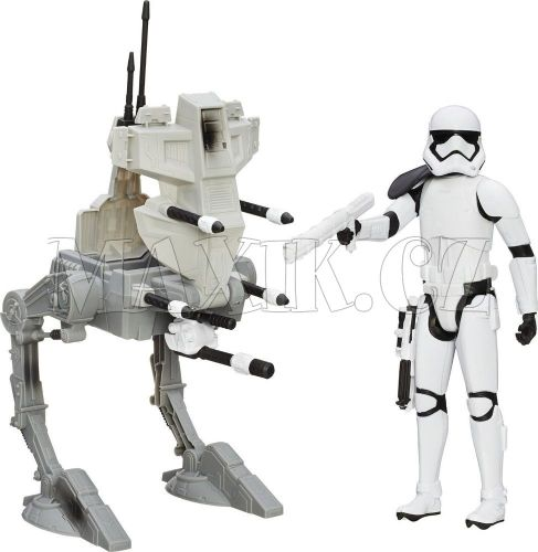 Hasbro Star Wars Epizoda 7 Figurka a vozidlo Assault Walker a Stormtrooper