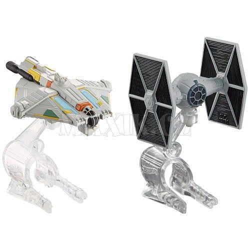 Hot Wheels Star Wars hvězdná loď cena od 326 Kč