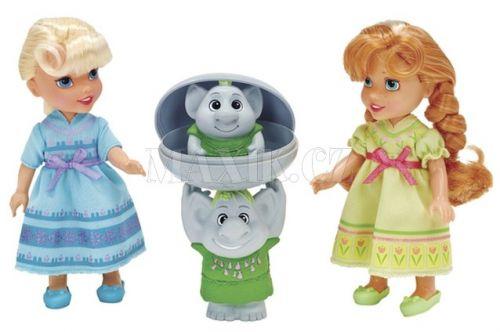 Blackfire Disney Ledové království Anna s Elsou a trolové