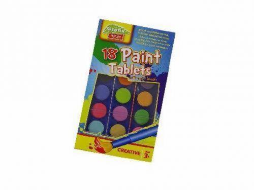SES 18 vodových barev se štětcem cena od 76 Kč