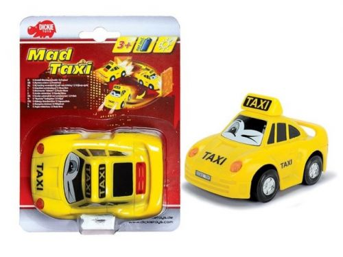 DICKIE Autíčko Mad Taxi 12 cm cena od 110 Kč