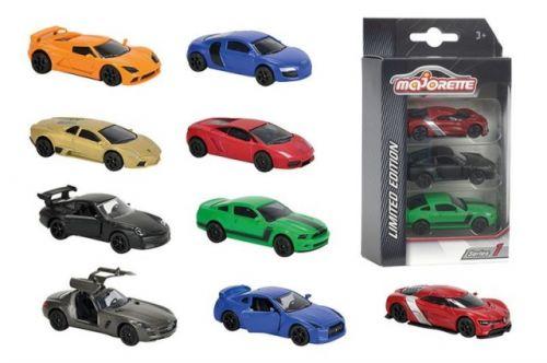 MAJORETTE Auto kovové Limitovaná edice 9 druhů cena od 154 Kč