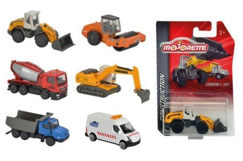 MAJORETTE Auto stavební kovové 6 druhů cena od 89 Kč