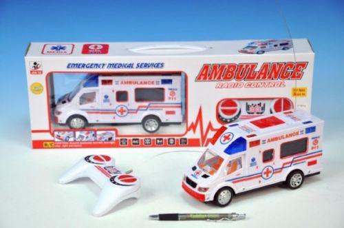 MIKRO TRADING Ambulance RC plast 22 cm cena od 386 Kč