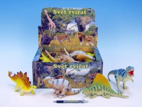 MIKRO TRADING Dinosaurus plast 23-28 cm cena od 66 Kč