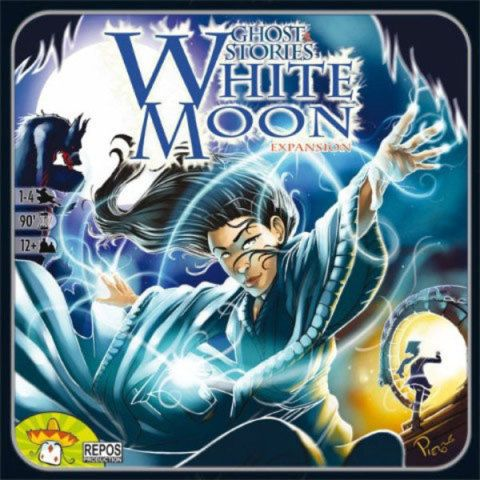 ASMODEE Ghost Stories: Expansion White Moon