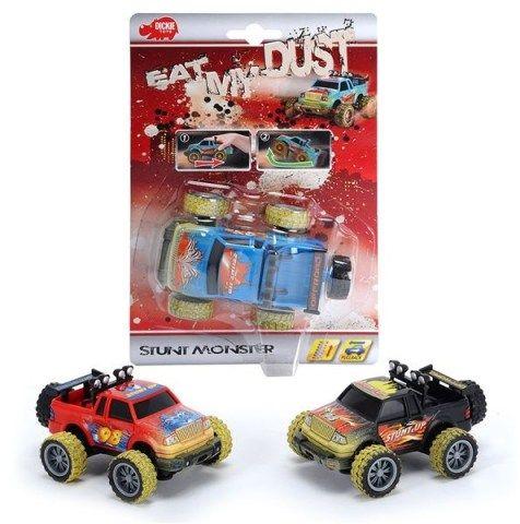 DICKIE Eat My Dust Stunt Monster 10 cm cena od 132 Kč