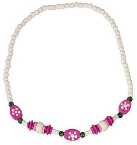 DETOA Dětský náhrdelník bílý