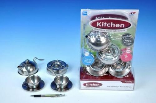 WIKY Dětské nádobí čajová sada plech cena od 104 Kč