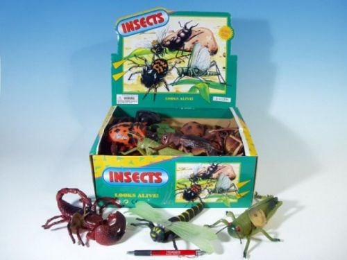 MIKRO TRADING Hmyz plast 13-23 cm cena od 39 Kč