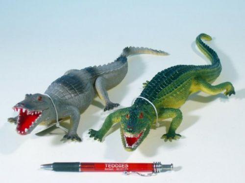 MIKRO TRADING Krokodýl plast 36-41 cm cena od 71 Kč