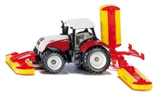 SIKU Blister traktor Steyr se sekacími nástavci cena od 169 Kč