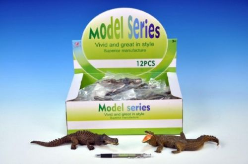 MIKRO TRADING Krokodýl plast 21-23 cm cena od 78 Kč