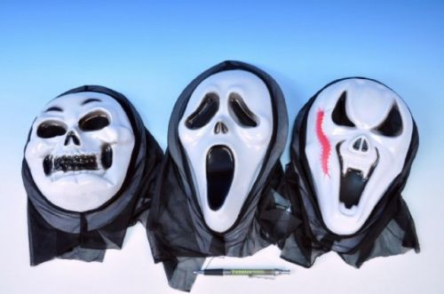 TEDDIES Maska karneval plast asst 3 druhy cena od 28 Kč