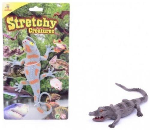 JOHNTOYS Natahovací ještěrka krokodýl cena od 68 Kč