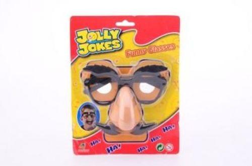 JOHNTOYS Legrační brýle + nos + knír cena od 49 Kč