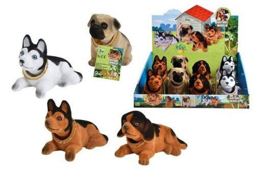 SIMBA Pes s kývací hlavou cena od 77 Kč