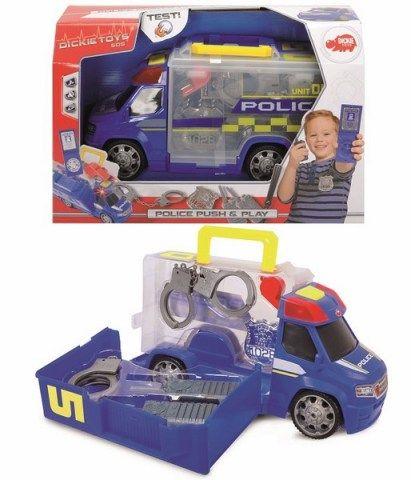 DICKIE Policejní auto s příslušenstvím 33 cm cena od 266 Kč