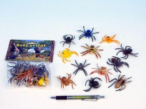 MIKRO TRADING Pavouk plast 5 cm cena od 65 Kč