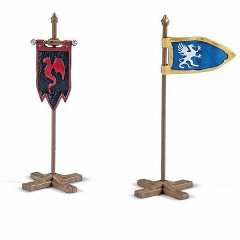 SCHLEICH Set vlajek cena od 65 Kč