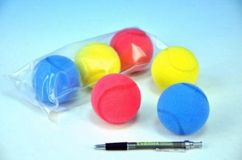 MIKRO TRADING Soft míč na softtenis pěnový 7 cm cena od 29 Kč