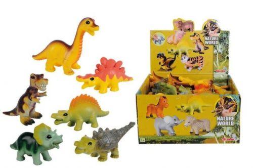 SIMBA Soft dinosaurus 10 cm cena od 39 Kč