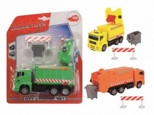 DICKIE Sběrné auto City Cleaner s příslušenstvím cena od 161 Kč