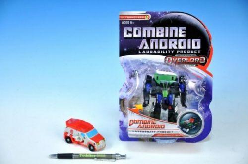 WIKY Transformer robot auto plast 11 cm
