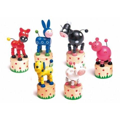 Woody mačkací figurka Zvířátko cena od 50 Kč