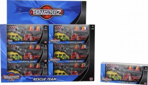 ALLTOYS Záchranářská technika Teamsterz cena od 66 Kč