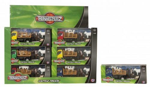ALLTOYS Teamsterz city vůz na přepravu dobytka cena od 73 Kč