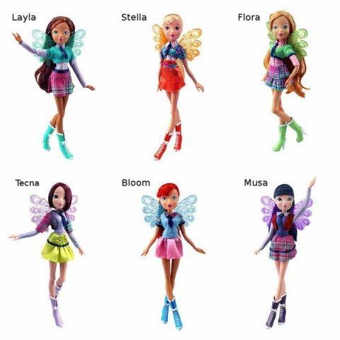 RAINBOW Winx Fairy School (6/6) cena od 0 Kč
