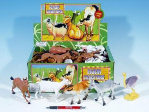 MIKRO TRADING Zvířátka farma plast 14-17 cm cena od 35 Kč