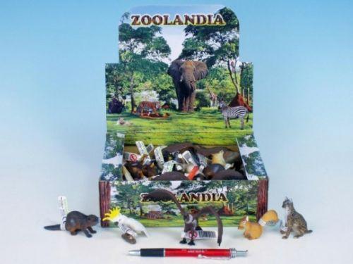 MIKRO TRADING Zvířátka ZOO menší plast 5,5-15 cm cena od 19 Kč