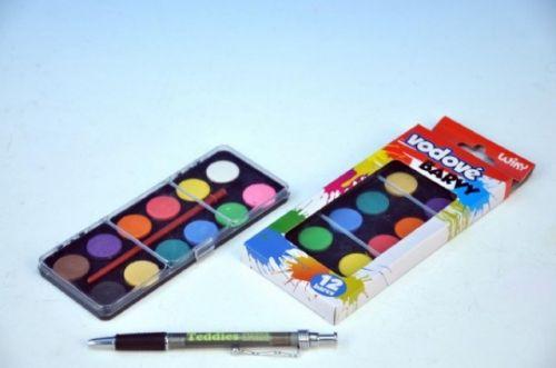 WIKY Vodové barvy 12 barev