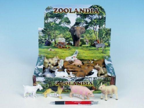 MIKRO TRADING Zvířátka farma plast 5-10,5 cm cena od 35 Kč