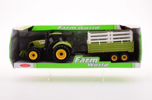 JOHNTOYS Traktor + přívěs cena od 223 Kč