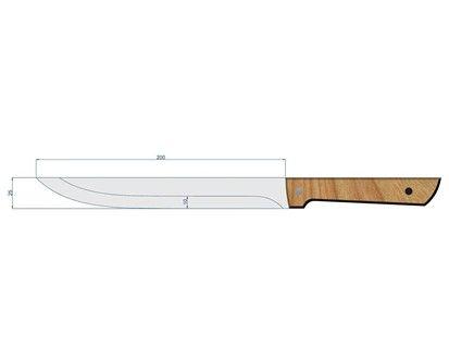 BANQUET BRILLANTE Nůž plátkovací 20 cm cena od 60 Kč