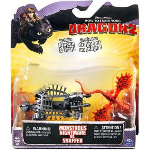 Spin Master Jak vycvičit draka Monstrous Nightmare vs. Snuffer cena od 239 Kč