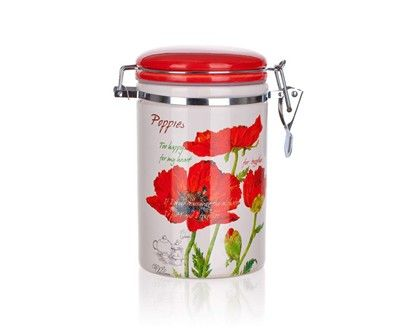 XXL obrazek BANQUET Red Poppy dóza 750 ml