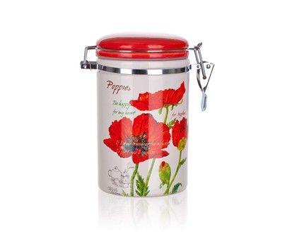 BANQUET Red Poppy dóza 750 ml cena od 140 Kč